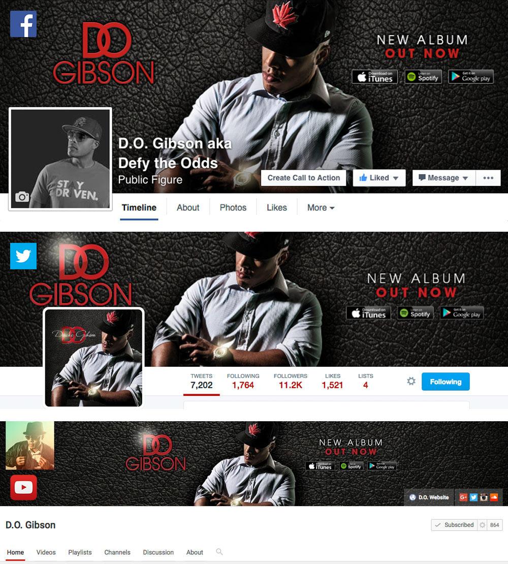 Duane D.O. Gibson - Social Media Branding, Facebook, Twitter, YouTube